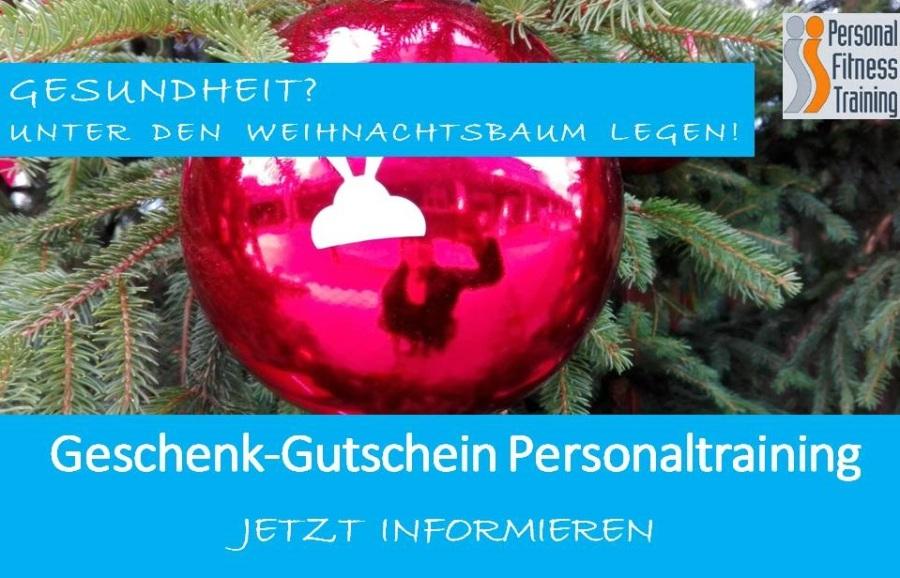 Geschenk-Gutschein Personaltraining